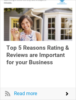 Top 5 Reasons Rating & Reviews are Important for your Business