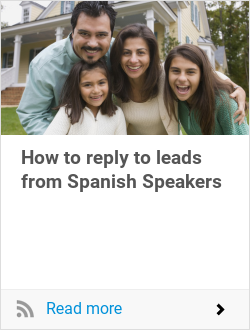 How to reply to leads from Spanish Speakers