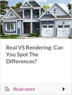 Real VS Rendering: Can You Spot The Differences?