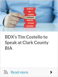 BDX's Tim Costello to Speak at Clark County BIA