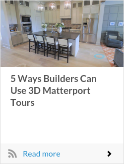 5 Ways Builders Can Use 3D Matterport Tours
