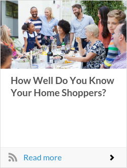 How Well Do You Know Your Home Shoppers?
