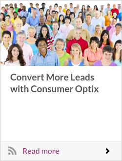 Convert More Leads with Consumer Optix