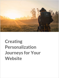 Creating Personalization Journeys for Your Website