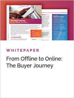 From Offline to Online: The Buyer Journey