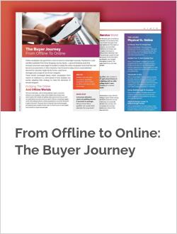 From Offline to Online: The Buyer Journey