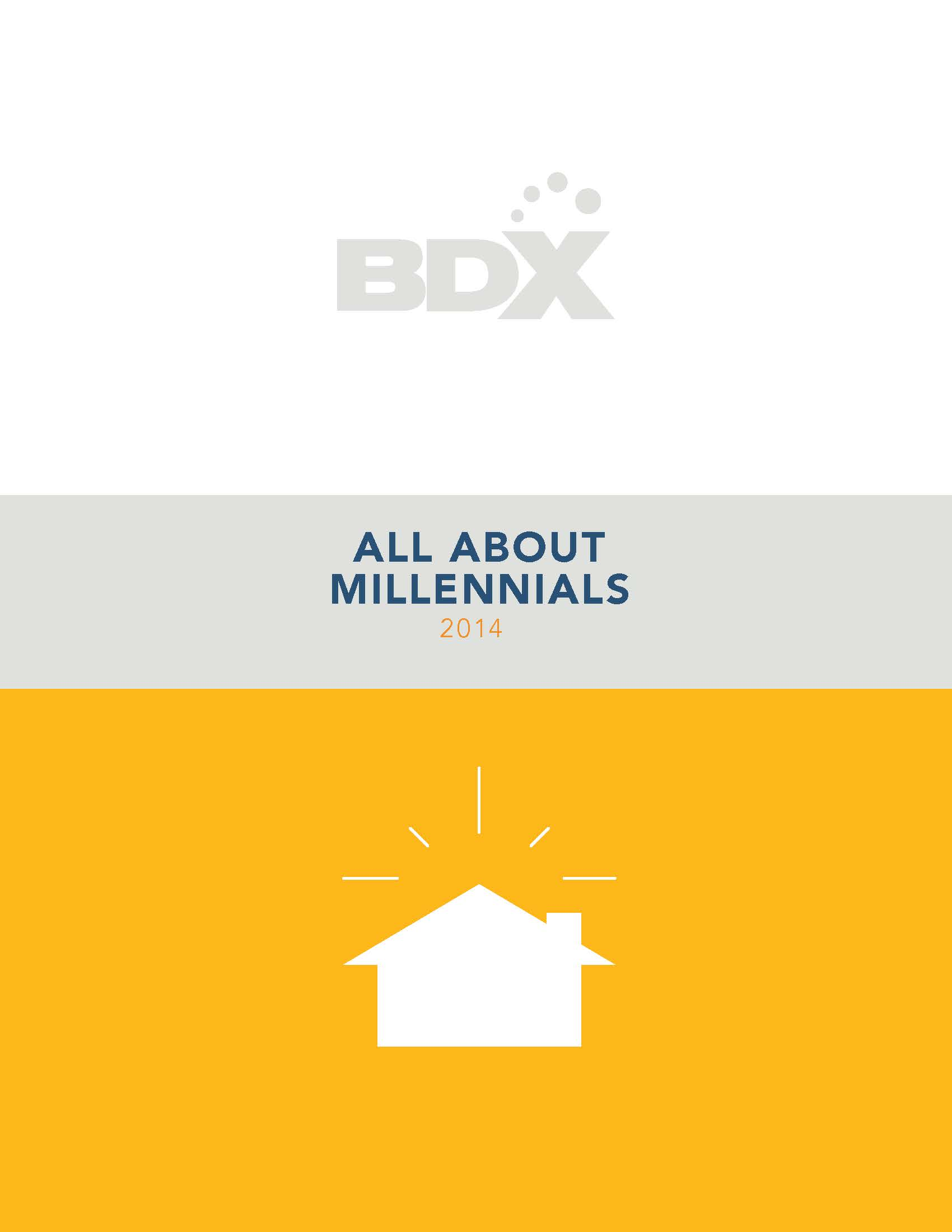 BDX's infographic reveals data about the millennial generation.