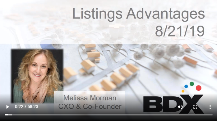 Webinar Discusses All The Advantages Homebuilders Get When They List With BDX