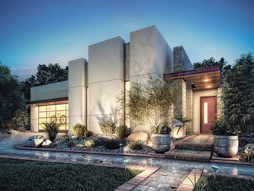 Homebuilders can capture buyers attention with 3D renderings of their new homes.