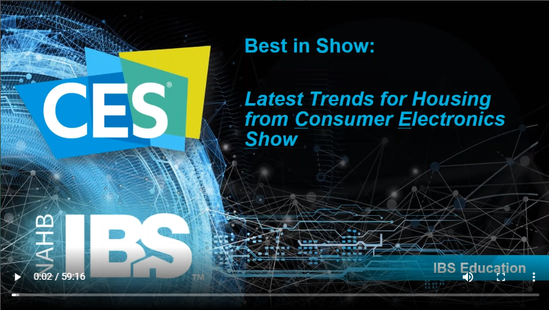 Webinar Highlighting The Best In Show From The Consumers Electronics Show