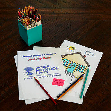 Home Builder Creates Activity Book For Children