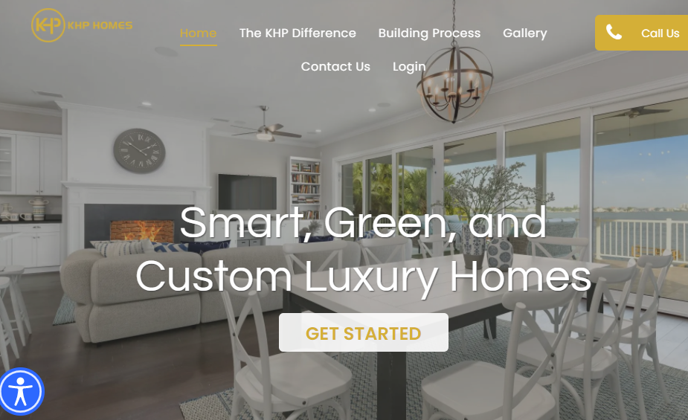 BDX uses WebExpress to build website for KHP Homes in two weeks.