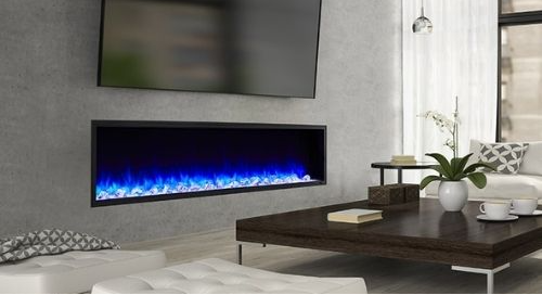 Five of the latest fireplace trends.
