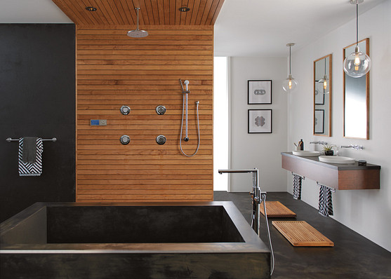 Top trends to remodel your kitchen and bathroom.