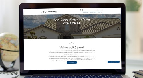 Benefits for builders using a saaS-developed website.