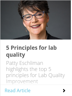 5 Principles for lab quality