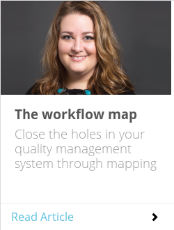 The workflow map
