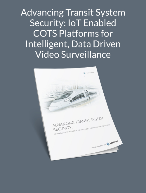 Advancing Transit System Security: IoT Enabled COTS Platforms for Intelligent, Data-Driven Video Surveillance