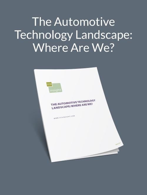 The Automotive Technology Landscape: Where Are We?
