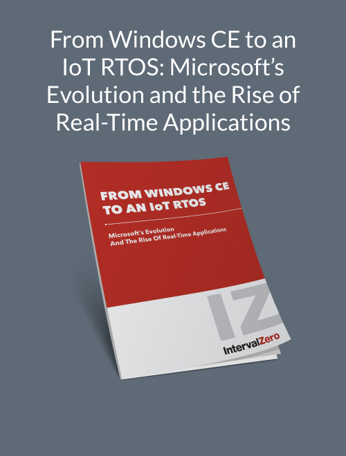 From Windows CE to an IoT RTOS