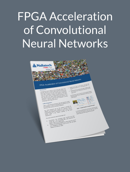 FPGA Acceleration of Convolutional Neural Networks