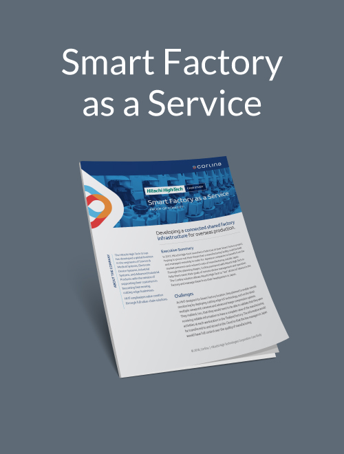 Smart Factory as a Service: Developing a connected, shared factory infrastructure for overseas production