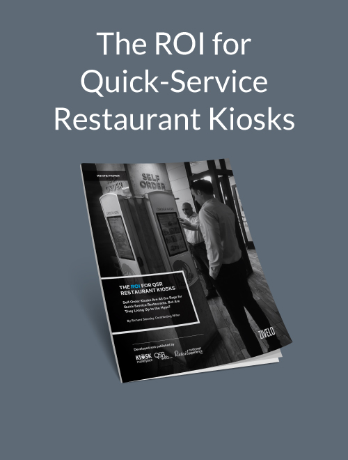 The ROI for Quick-Service Restaurant Kiosks