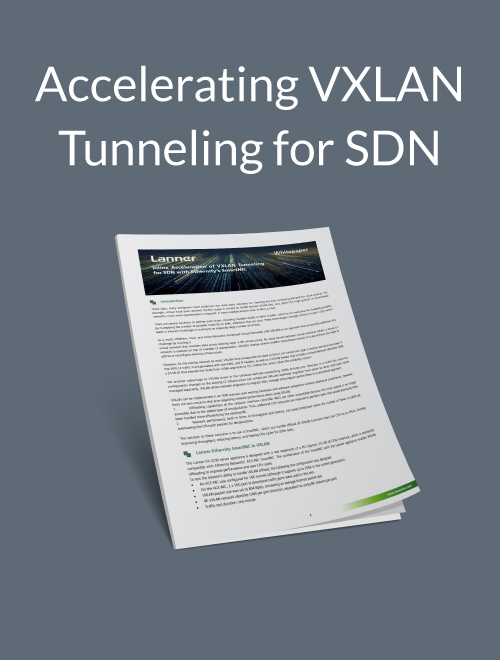 Accelerating VXLAN Tunneling for SDN
