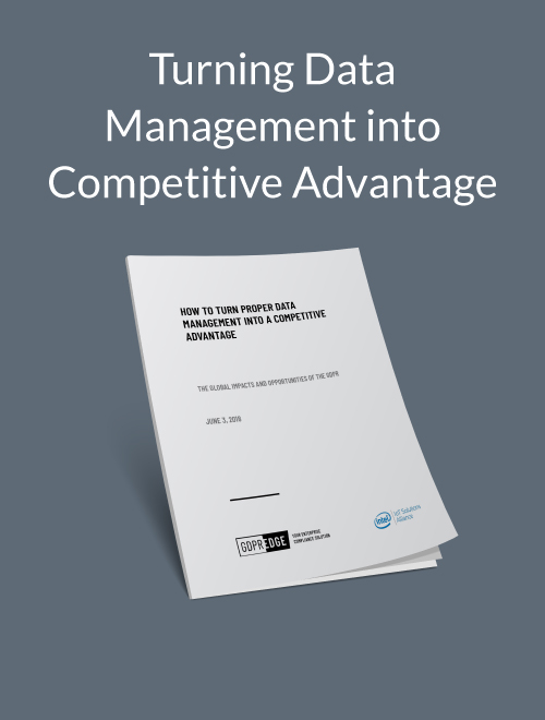 Turning Data Management into Competitive Advantage