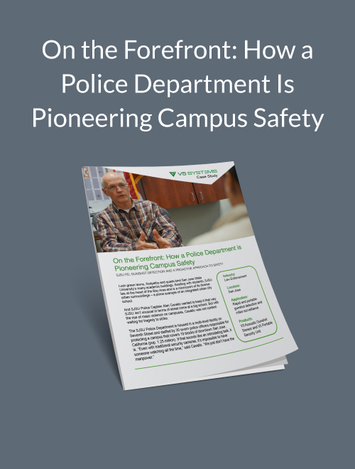 On the Forefront: How a Police Department Is Pioneering Campus Safety