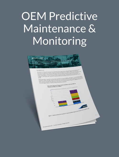OEM Predictive Maintenance and Monitoring