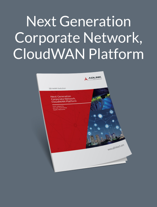 Next-Generation Corporate Network, CloudWAN Platform