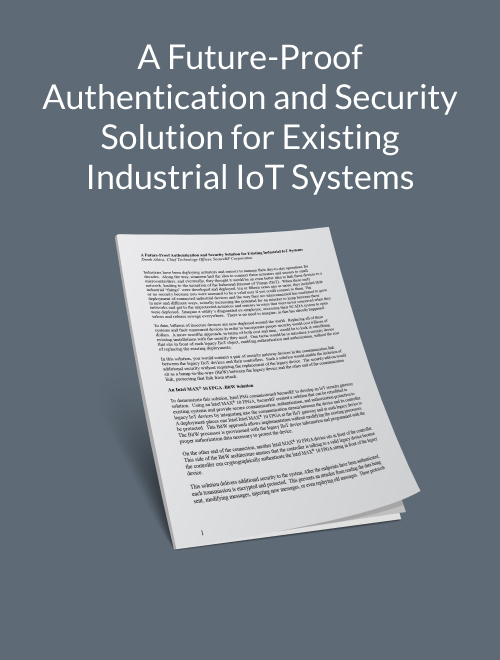 A Future-Proof Authentication and Security Solution for Existing Industrial IoT Systems