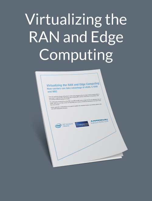 Virtualizing the RAN and Edge Computing
