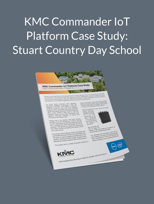 KMC Commander IoT Platform Case Study: Stuart Country Day School