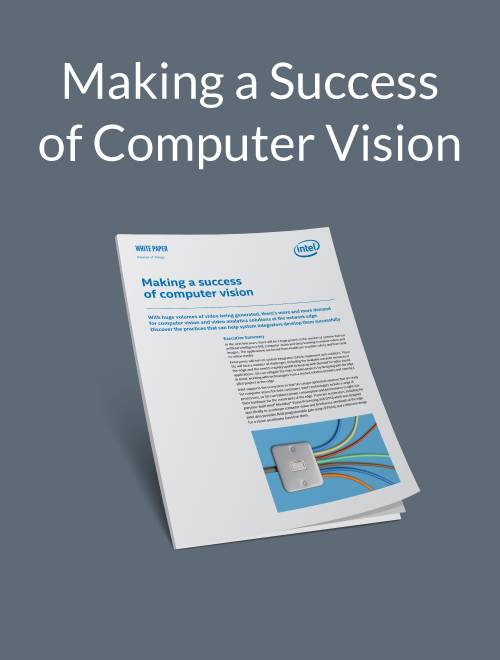 Making a Success of Computer Vision
