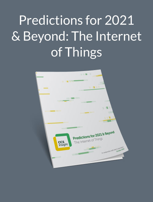 Predictions for 2021 & Beyond: The Internet of Things