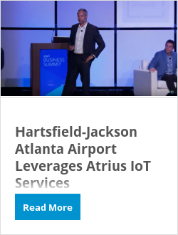Hartsfield-Jackson Atlanta Airport Leverages Atrius IoT Services