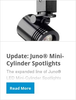 Update: Juno® Mini-Cylinder Spotlights