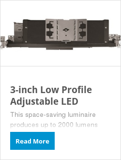 3-inch Low Profile Adjustable LED