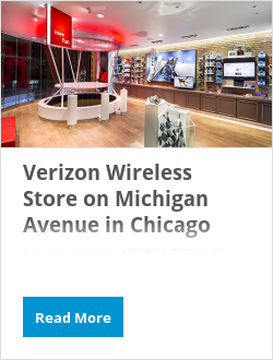 Verizon Wireless Store on Michigan Avenue in Chicago