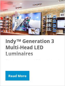 Indy™ Generation 3 Multi-Head LED Luminaires