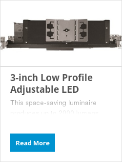 3-inch Low Profile Adjustable LED