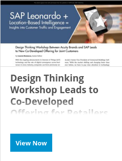 Design Thinking Workshop Leads to Co-Developed Offering for Retailers