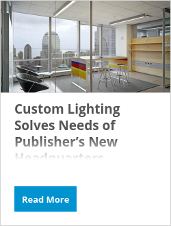 Custom Lighting Solves Needs of Publisher's New Headquarters