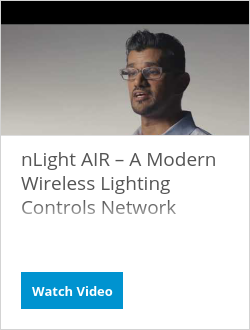 nLight AIR – A Modern Wireless Lighting Controls Network