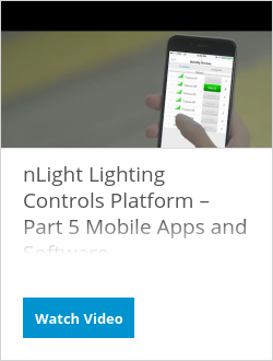 nLight Lighting Controls Platform – Part 5 Mobile Apps and Software