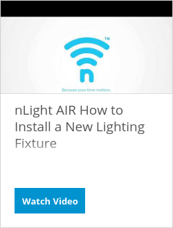 nLight AIR How to Install a New Lighting Fixture