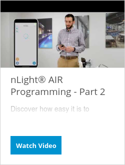 nLight® AIR Programming - Part 2