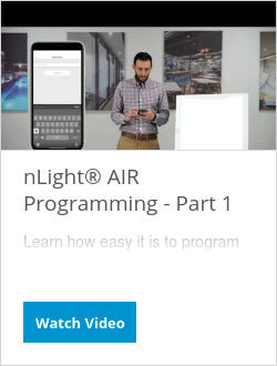 nLight® AIR Programming - Part 1